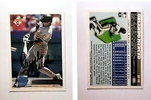 Orlando-Merced-Signed-1996-Topps-265-Card-Pittsburgh-Pirates-Auto-Autograph