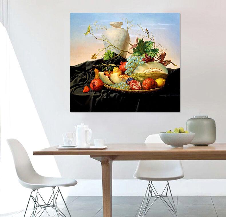 3D Trauben, Melone 255 Fototapeten Wandbild  BildTapete Familie AJSTORE DE