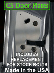 Jeep Grand Cherokee Zj 93 98 Driver Door Latch Repair Reinforcement Plate Ebay