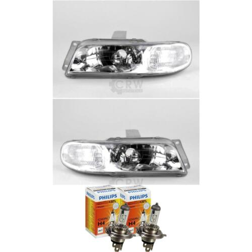 Headlight Set Daewoo Nubira Year 09//97-05//99 H4 with Indicator 1368612 Klaj