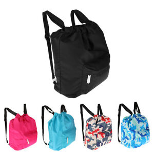 c8f6787aa1 Image is loading Waterproof-Swimming-Sport-Dry-Wet-Separation-Storage- Drawstring-