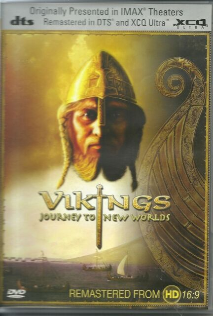 VIKINGS JOURNEY TO NEW WORLDS DVD
