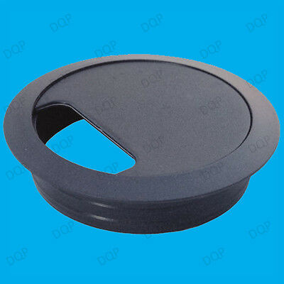 Computer Table Grommet Cable Tidies Desk Surface Port Hole Covers Pack of 4 80mm
