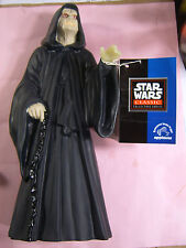 """EMPEROR GLOWING HANDS & FACE STAR WARS 10"""" APPLAUSE SERIES VINTAGE MINT SHAPE"""