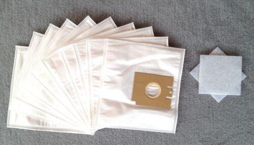 Staubbeutel Filtertüten 10 Staubsaugerbeutel für AEG smart 465 2 Filter