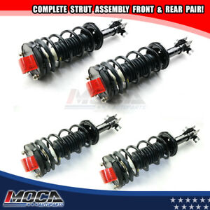 image is loading 4-front-rear-strut-spring-assembly-kit-fits-