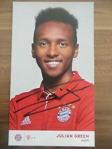 Handsignierte-AK-Autogrammkarte-JULIAN-GREEN-FC-Bayern-Muenchen-16-17-2016-2017