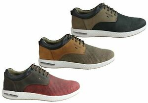 Brand-New-Ferricelli-Burke-Mens-Leather-Lace-Up-Casual-Shoes-Made-In-Brazil