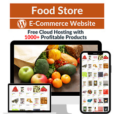 Food Store Amazon Business Affiliate Dropshipping Website With 1000 Products