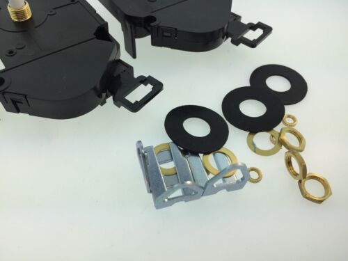 "Set of 3 Quartz Battery Movements with Pendulum Hanger Fits 1//8/"" Dial"