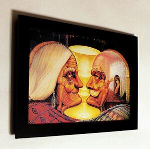 Octavio Ocampo forever always canvas print framed, giclee ...