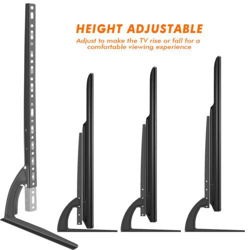 Universal Table Top TV Stand Legs for LG 32LK330-UB Height Adjustable