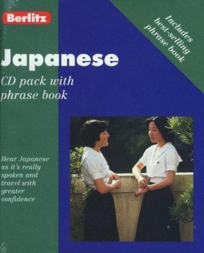 CD Pack: Japanese by Berlitz Editors and Berlitz Publishing Staff (1999, Other,