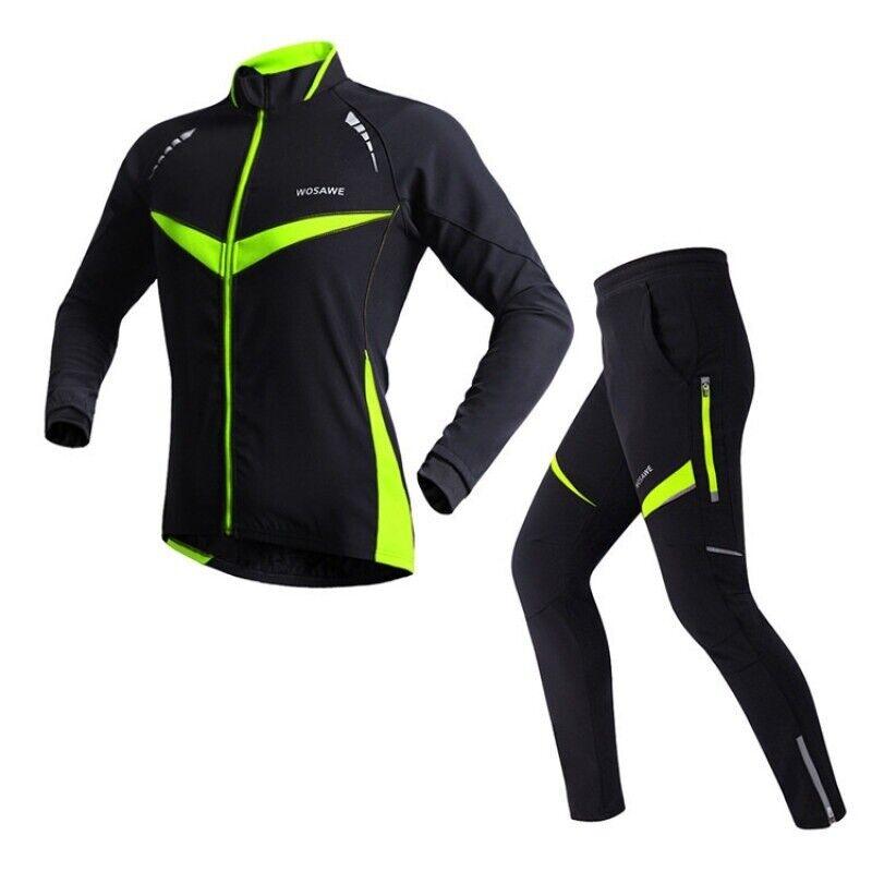 Equitazione Invernale Abiti Termici ciclismo a uomoiche lunghe giacche Antivento Moto Pantaloni