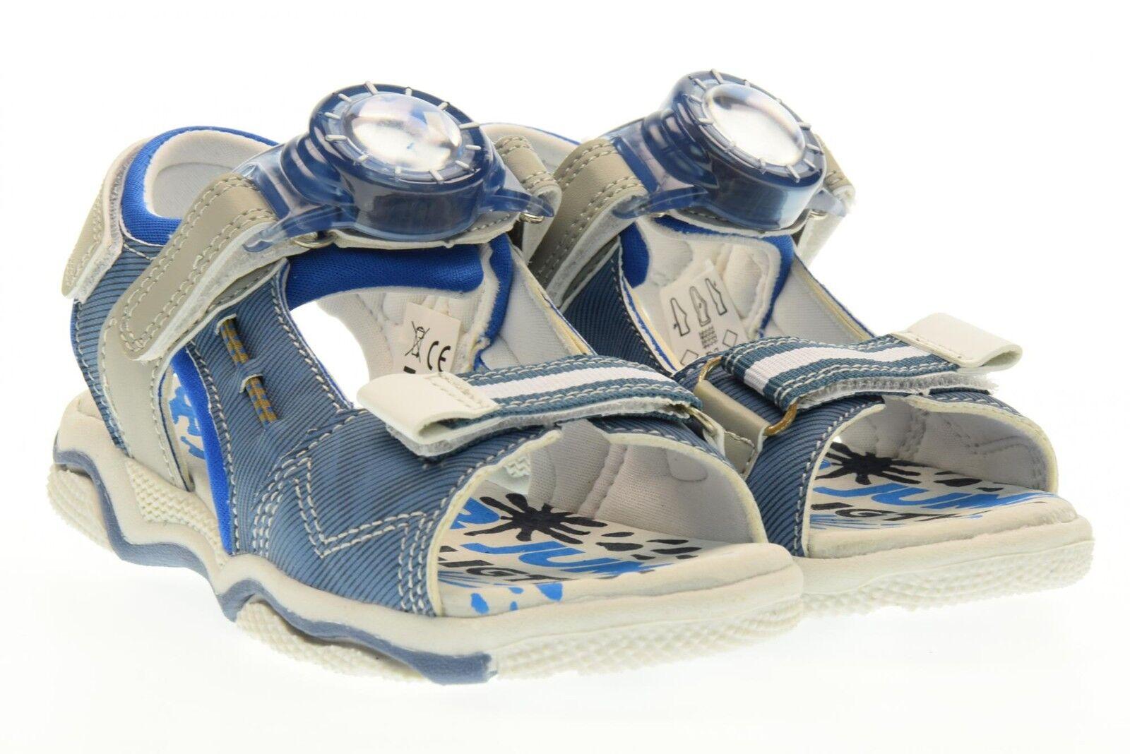 SuperJump Collezione America chaussures bambino sandali SJ2974 VICTOR bleu JEANS P17
