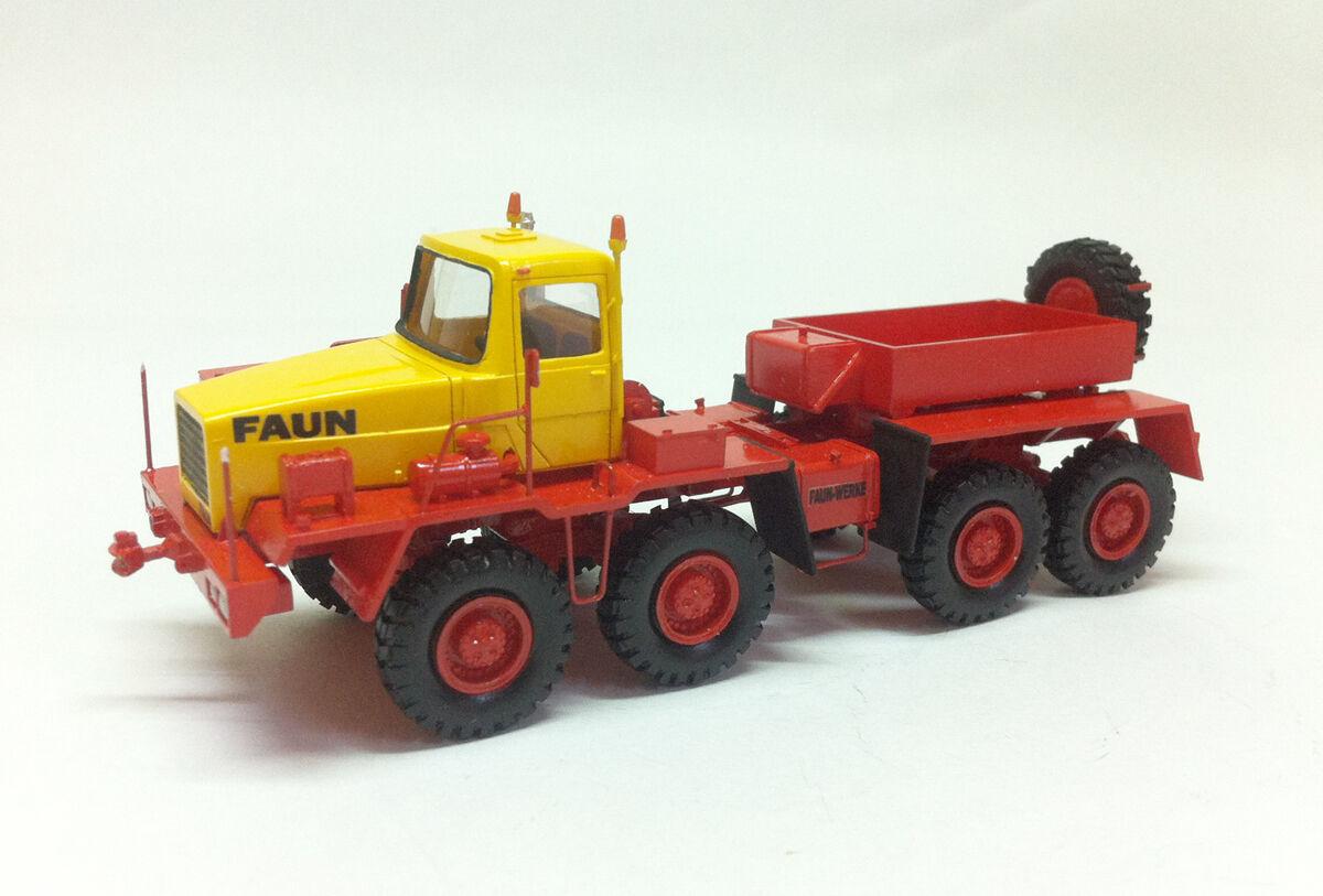 Fertig Resin HO 1 87 87 87 Faun HZ 46.40 49 8x8 TRANSPORT – DDR 1975 ad3a72
