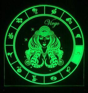 Virgo-Zodiac-Star-Sign-LED-Remote-Control-Sign-Bar-Sign-Man-Cave-Light-Gift