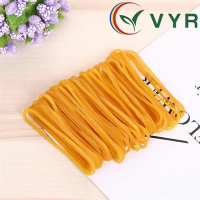 100//200//500 pcs Elastic Bands Rubber Band Rubber Ring Packing Office Home New