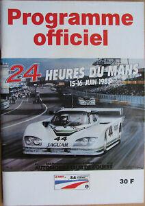 24 Heures Du Mans . 1985 . Programme Officiel . Complet . Tres Bel Etat .