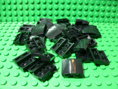 ** 25 CT LOT **  Lego NEW black 2 x 2 slope pieces   Lot of 25