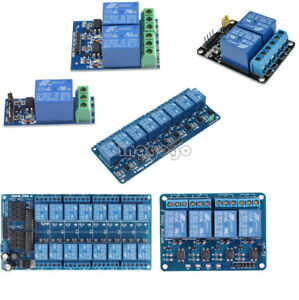 12 V 1/2/4/8/16 Channel Relay Module with Optocoupler for PIC AVR DSP ARM Arduino