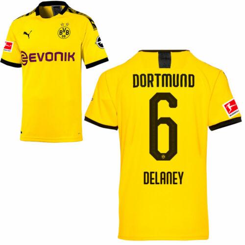 PUMA Borussia Dortmund BVB maglia di casa 2019 2020 MAGLIA home bl giocatori da uomo
