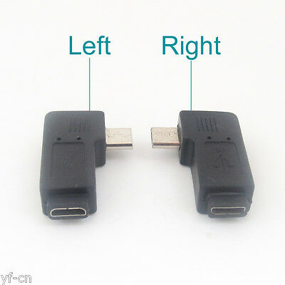 50pcs  USB 2.0 Male To USB Female 360 Degree Rotation Angle Extension Adapter