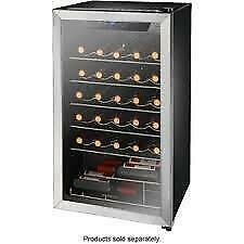 Insignia 29-Bottle Freestanding Wine Cooler. STAINLESS STEEL (NS-WC29SS9) -  New With Warranty. $199.00 NO TAX. Toronto (GTA) Preview