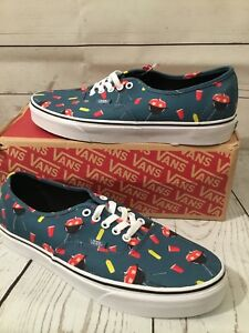 5621626719 Vans Authentic Pool Vibes BBQ   Solo Cup Blue Ashes True White Mens ...