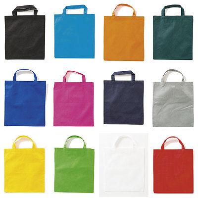 Vliestasche Einkaufstasche Tasche mit 2 kurzen Henkeln Stofftasche PP-Tasche