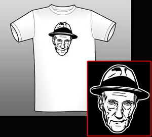 William Burroughs Naked Lunch Sketch T-shirt/Long   Etsy
