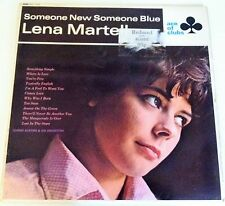 "Lena Martell Vinyl LP 12"" Someone New Someone Blue 1966 Orchestra Jennie Record"