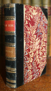1890-Adam-Beade-George-Eliot-Later-Edition-Vol-1-of-the-Works-of-Eliot-Leather