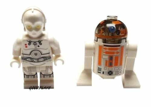 2 Lego Star Wars k 3po & R3-A2 Minifigure new From set 75098 minifig lot