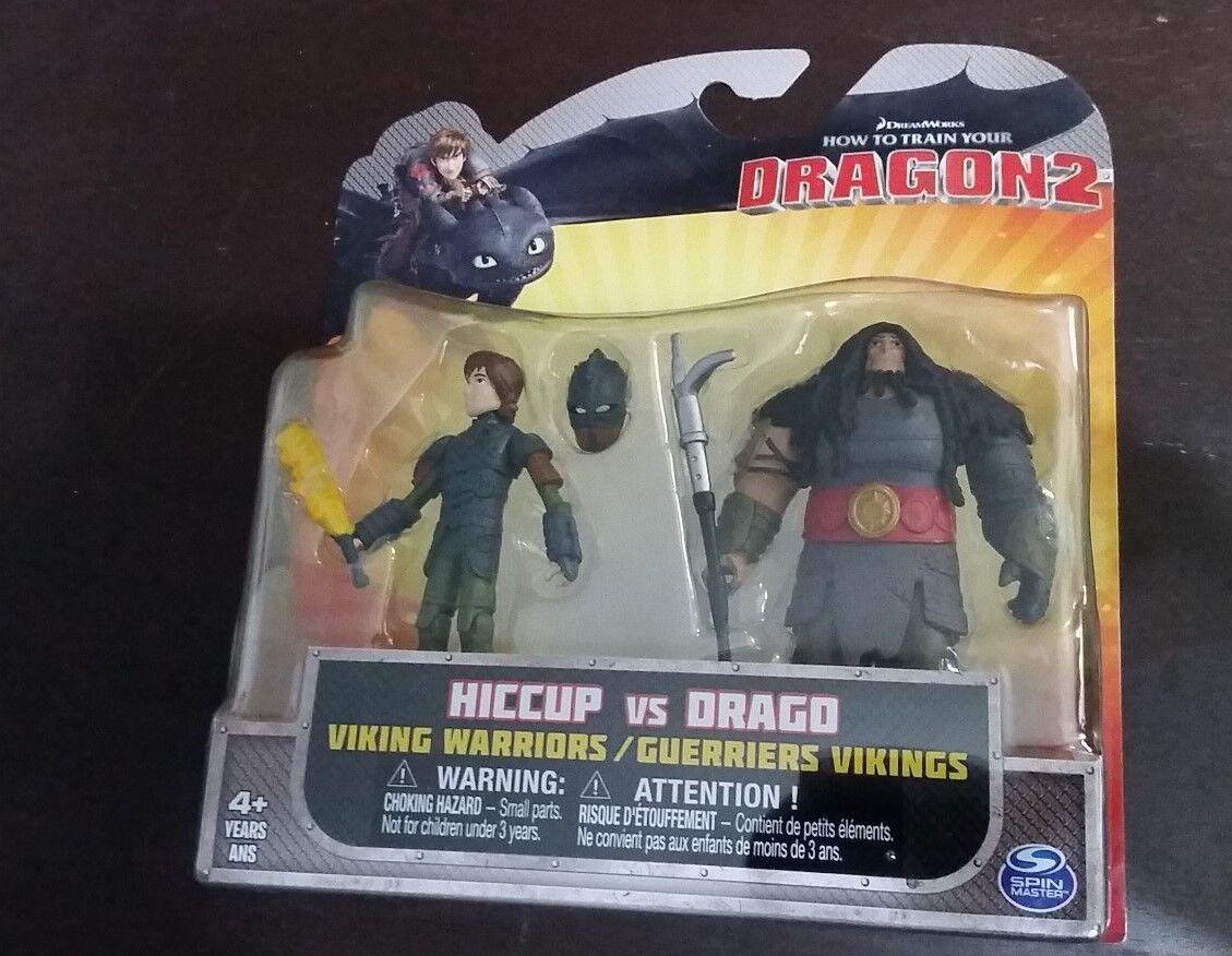 Wie trainieren sie ihre drachen 2 hicks vs drago action - figuren