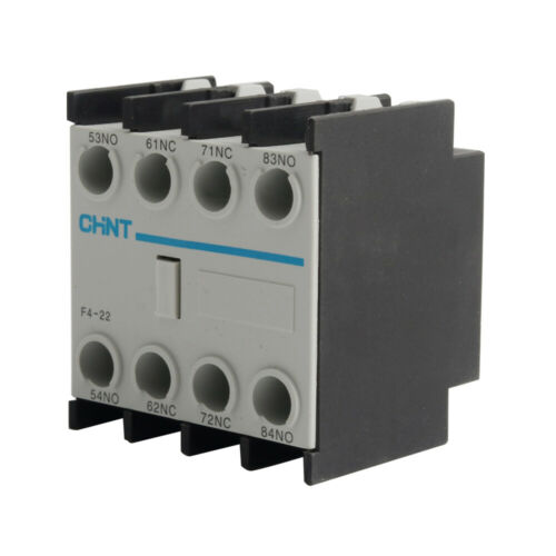 F4-22 2NO+2NC AC Contactor Block CJX2 Auxiliary Contact 690V Ui Industrial