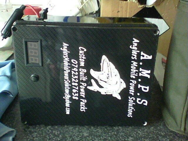 BIVVY CARP FISHING CAMPING 12v POWER BANK//PACK POWER STATION