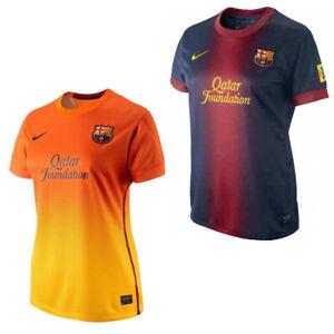 Nike-FC-Barcelone-Jersey-Maillot-Shirt-Femme-Football-NEUF