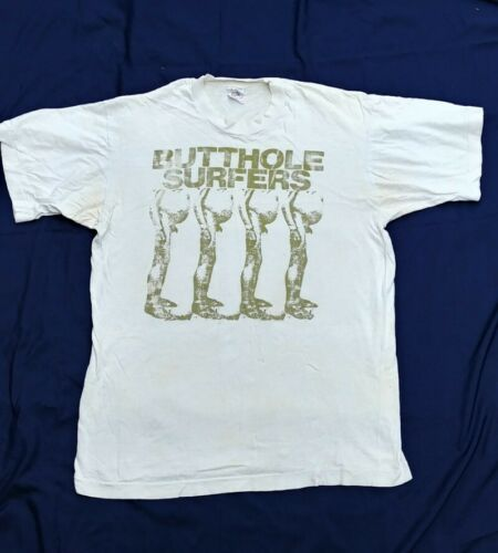 Vintage 80s Butthole Surfers T-shirt Size L Vintag