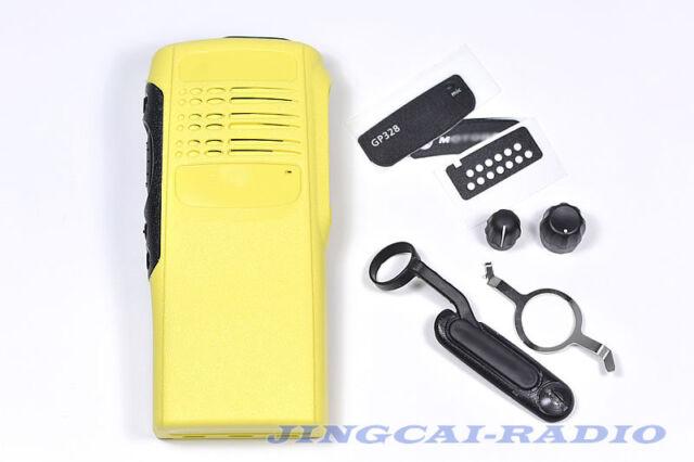 Yellow Complete Radio Service Parts Case Refurb Kit For Motorola GP328 GP340 New