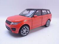 LOT 40761 | Welly Range Rover Sport orange-schwarz Modellauto 1:40 NEU