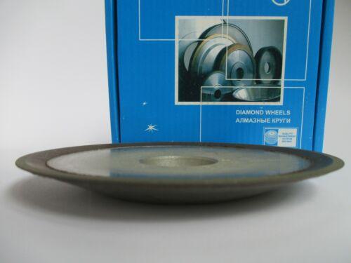 "Hole 1-1//4/"" Type 5 inch 12R4 Dish Diamond Grinding Wheel 150 Grit 125mm"