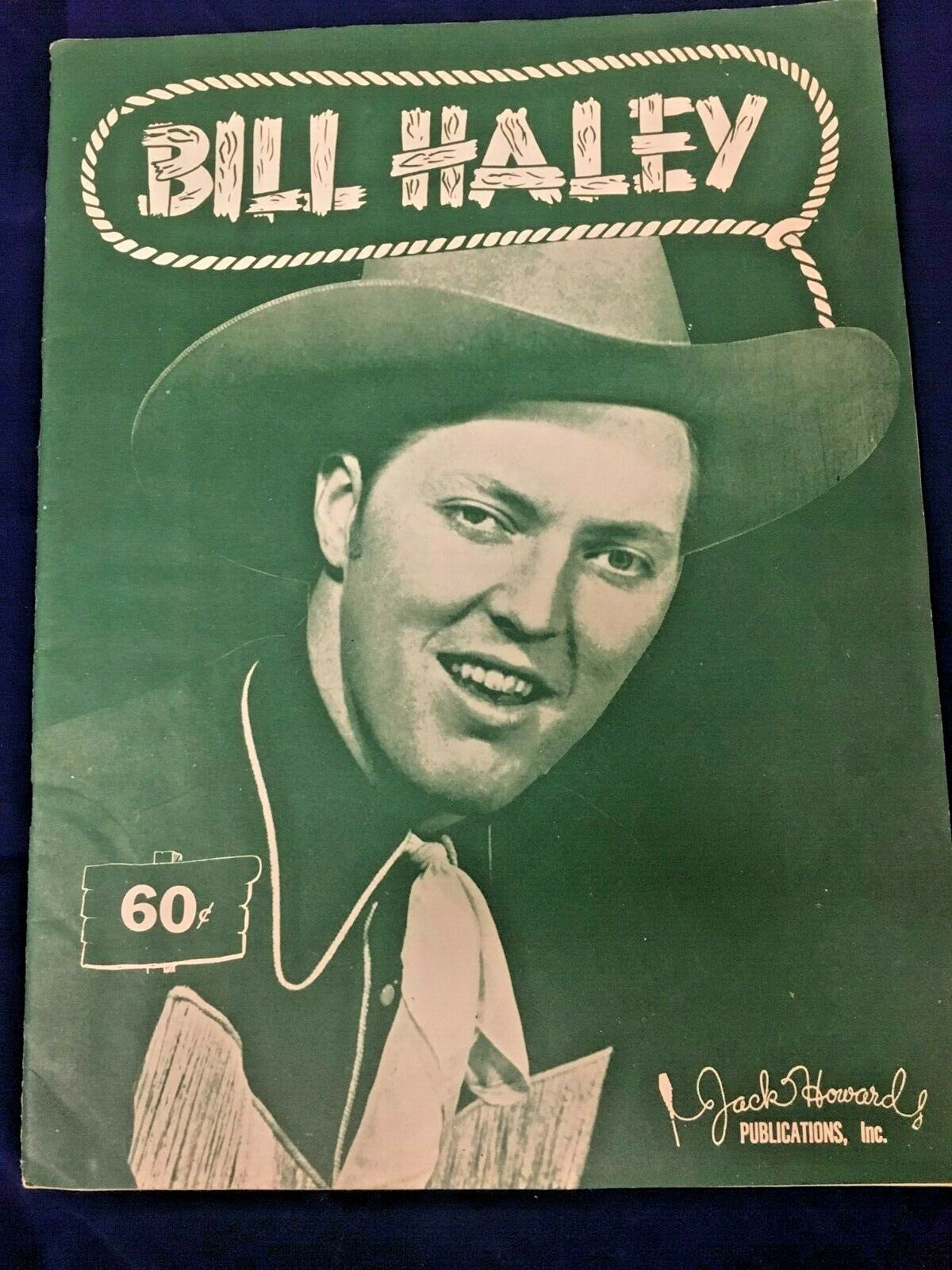 Bill Haley Song Book Musical Arrangement Jack Howard Publication Rare Original