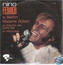 NINO FERRER LE TELEFON CD SINGLE EP 4T no vinyl édition numérotée 0064