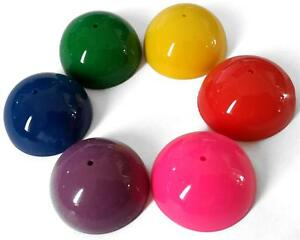 Bulk-Lot-x-50-Dome-Poppers-32mm-Bright-Colours-Kids-Novelty-Party-Favor-Toys-NEW