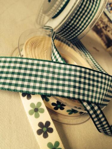 4m Berisfords Ruban Vichy meilleure qualité pour la couture artisanat et accessoires de cheveux