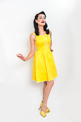 Cute Little Yellow Sundress New With Several Sizes. Steady Clothing