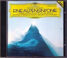 Herbert von KARAJAN: Richard STRAUSS Eine Alpensinfonie 1981 DG West Germany CD