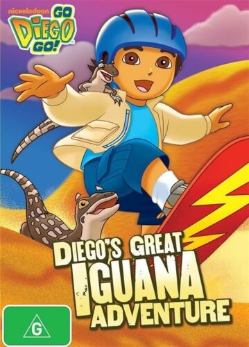 1 of 1 - Go Diego Go! - Diego's Great Iguana Adventure (DVD, 2012)