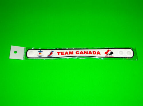 CANADA OLYMPIC HOCKEY M WHITE WRISTBAND